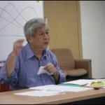 萧文教授特地百忙抽空来为暨南大学辅导谘商研究所毕业的校友,传授他本人经过多年的经